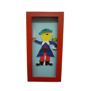 Tra PRESENT Pirate Picture TR003668 Nursery, 26 x 13 CM