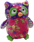 Mary Meyer - Print Pzazz Olio Owl Soft Toy - 18cm