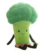 PeiGee Cartoon Plush Vegetables Stuffed Soft Plant Toy Broccoli