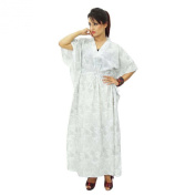 Cotton Beach Cover Up Kaftan Boho Hippy New Indian Plus Size Women Dress Caftan