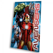 Kids Euroswan - Marvel MV92186 Avengers Fleece Blanket 150 x 100 cm.