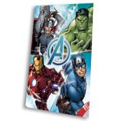 Kids Euroswan - Marvel MV16513 Avengers Fleece Blanket 150 x 100 cm.