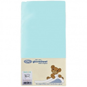 Chicco Next 2 Me/Chicco Lullago Fitted Sheet - Aqua Blue