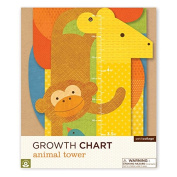 Petit Collage Animal Folding Tower Growth Chart