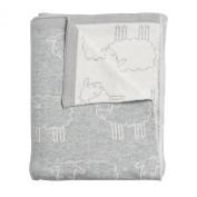 Sophie Allport Baby Blanket - Grey Sheep