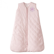 Halo Sleepsack Baby Wearable Blanket Winter Weight-Small 0-6 Months-Pink with Snowflake