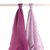 Yoga Sprout 2 pack Muslin Swaddle Blanket