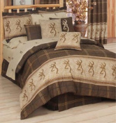 Browning Buckmark Comforter Set In Brown Size