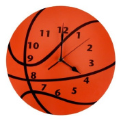 Trend Lab Wall Clock, Basketball Colour