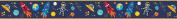Space Boy Design Children's Self Adhesive Vinyl Wallpaper Border 15cm Wide 5 Metre Long