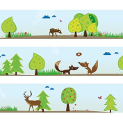 "Wandkings border ""Forest Animals"" length"