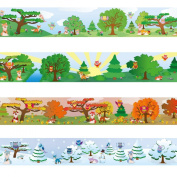 "Wandkings border ""Owls and Foxes"" Length"