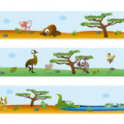 "Wandkings border ""Australian wildlife"" Length"