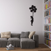 Banksy Balloon Girl Vinyl Wall Decal