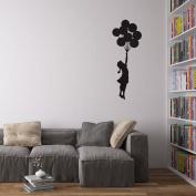 Banksy Balloon Girl Vinyl Wall Decal