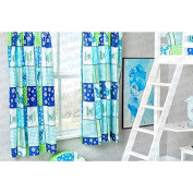 Butterfly Design Children's Bedroom Curtains 170cm x 180cm with Tie Backs