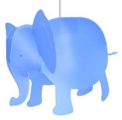 R & M Coudert Children's Hanging Elephant Light, Ivory Cream