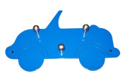 Bony Design Kids coat rack blue car (9916-62) - 24 x 16 x 3 cm