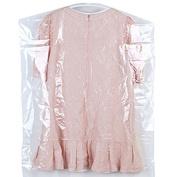 4 PCS Transparent Garment Cover Bags Dust Proof Storage Bag For Men Women Suit Dress Clothes