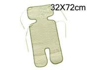 32 x 72cm Natural Bamboo Car Seat Cushion Mat Baby Rattan Summer Sleeping Mat for Stroller