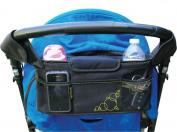 Venture Baby Organiser for Pushchairs, Prams, Strollers, Buggies, Premium Quality with 2 x Insulated Bottle Holders