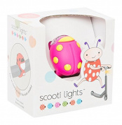 Scooti Lights Pink with Yellow Spots