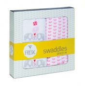 Fresk Swaddle Set (Elephant)
