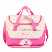 2015 waterproof Maternity bag multifunctional canvas bags, large capacity bags, pink