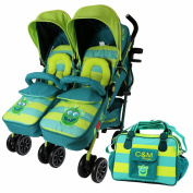iSafe TWIN OPTIMUM Stroller - LiL Friend
