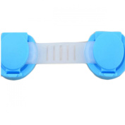 YanFeng Pack of 2 Safety lock/ cabinet lock/ baby child safety lock/ maternal and infant security short Latches, pure colour, blue