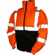 Tingley Rubber J26119 CL3 Bomber II Jacket, Small, Orange