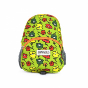 Hugger Totty Tripper Backpack Harness Reins Toddler Floodle Doodle Green Flowers