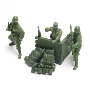 Toy Soldiers Army Men War Combat Force Set Plastic Soldier GI Joe Figures