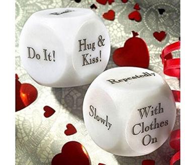 Decision Dice Naughty Bedroom Love Dice Toy Romantic
