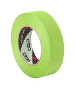 TapeCase 401+ 2.4cm x 60yd High Performance Masking Tape-Converted from 3M 401+/233+, 2.4cm x 60 Yards Roll, Crepe Paper, Green