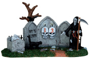 Lemax 43102 Grim Reaper Countdown Spooky Town Table Accent Halloween Decor Village