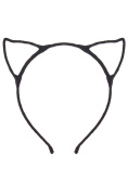 Cat Ear Headband - Black