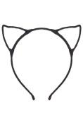 Cat Ear Headband - Black