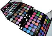 Glitter Eyeshadow Diamond Dust Professional Grade 48 Colour Day & Night Eyeshadow 2 Palette Set