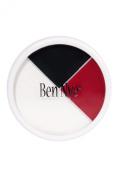 Ben Nye Colour Makeup Wheels - Red, White, Black RB