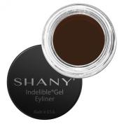 SHANY Indelible Gel Liner, Talc Free, Waterproof, Crease Proof Liner, Hazelnut, 10ml