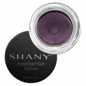SHANY Indelible Gel Liner, Talc Free, Waterproof, Crease Proof Liner, Madame, 10ml