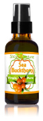 Slice Of Nature Sea Buckthorn Oil - 100% Pure Virgin Unrefined Sea Buckthorn Berry oil - Eczema & Psoriasis Scalp Treatment, Anti Ageing Moisturiser, Remove Age Spots, Sea Buckthorn Body Lotion