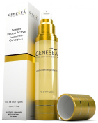 Genesea Jojoba Serum Enriched with Dead Sea Minerals & an Exclusive Blend of Oils - A Source of Powerful Antioxidants, Hydrators & Omega 3 for Your Skin - Recommended for Dry Skin Type