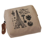Buytra Classic Retro Canvas Purse Wallet Coin Bag Pouch Case