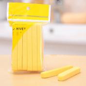 12pcs Compressed Natural Spong Facial Cleaning Wash Sponge Stick Puff Face Makeup Pads Stick