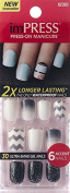 "**NEW 2015** KISS 2x Longer Lasting imPRESS ""FLASH MOB"" (N) by Broadway Press-On Manicure Nails"