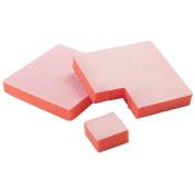 For Pro Tearable Mini Block File, Orange, 126 Count