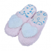 Sunward Indoor Slipper, Lovely Bear / Love Heart Lovers Super Soft & Lightweight Warm Home Floor Slippers Shoes (40