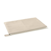 Large Pouch - Full Grain Leather - Stone